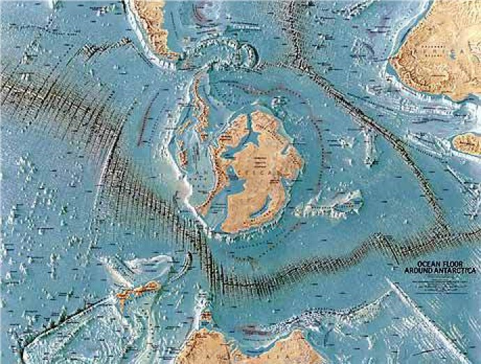 Third Reich Operation UFO Nazi Base In Antarctica - Edgar cayce us map